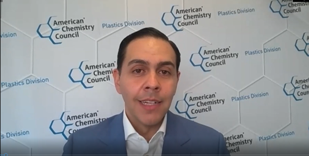 Joshua Baca, vice president of the American Chemistry Council's Plastics Division