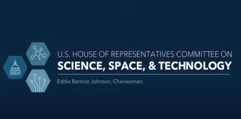 Logo for U.S. House of Representatives Committee on Science, Space, & Technology