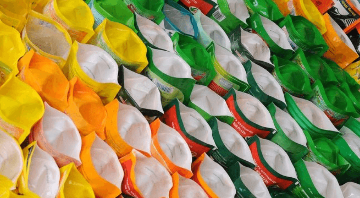 A collection of plastic bags