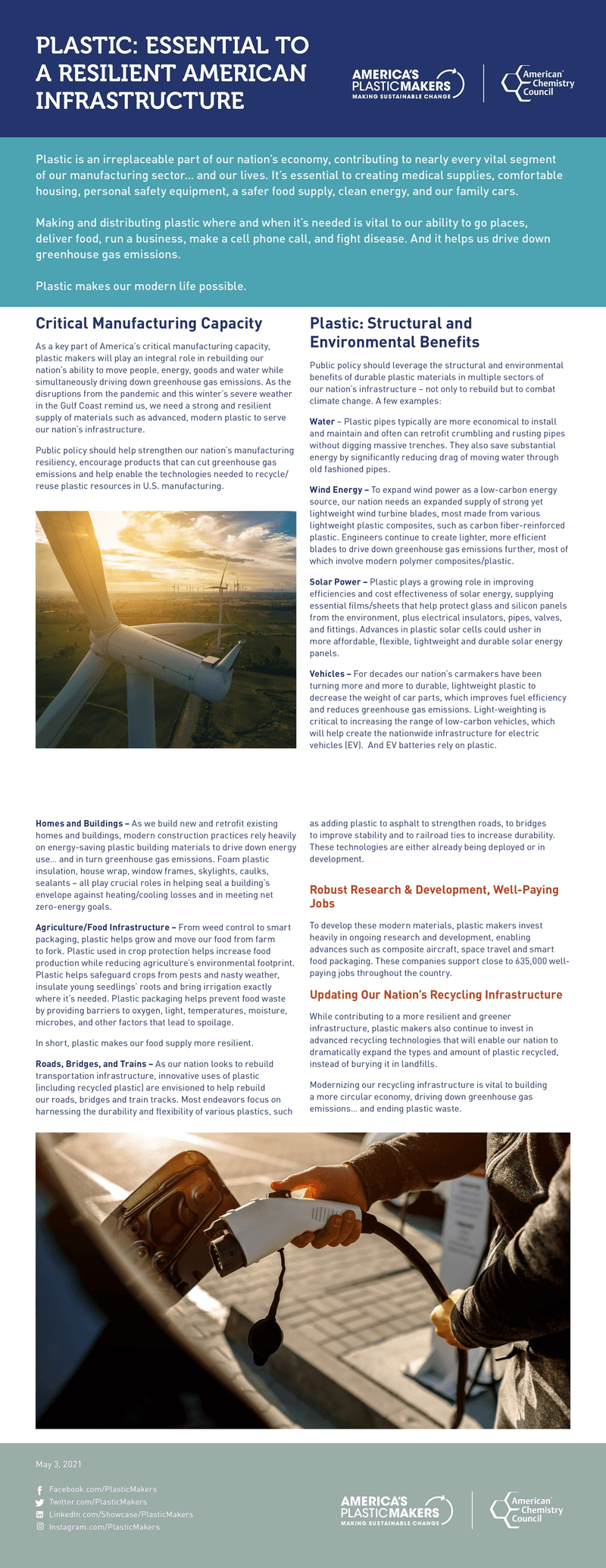 Essential to a Resilient American Infrastructure Fact Sheet
